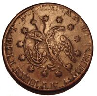 OLD Canadian Coins T. DUSEAMAN Butcher BELLEVILLE Mule TOKEN Breton br 670 LC-45