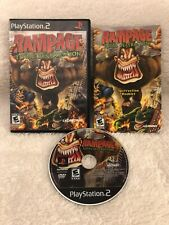 Rampage Total Destruction 9Sony PlayStation 2 2006 PS2) CIB Complete W/ Manual