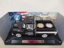 U.S. Mint Two Quarter Set - Iowa - in 1:28 Scale 1957 Chevy Cameo - Collectible