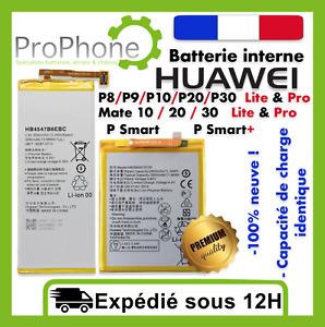 BATTERIE Huawei P8/P9/P10/P20/P30/ Mate 10/20/30 Pro Lite P Smart 100% Neuve ✅⭐