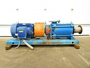 MO-3935, GOULDS 3355 MULTISTAGE CENTRIFUGAL PUMP W/ 75 HP MOTOR. 5x6-11B.