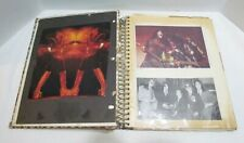 KISS ROCK BAND VINTAGE SCRAPBOOK ALBUM PHOTOS SNAPSHOTS CLIPPINGS MORE 1978 1979