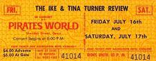 IKE & TINA TURNER 1970 COME TOGETHER TOUR UNUSED CONCERT TICKET