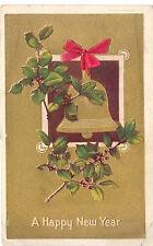 Alte Gückwunschkarte aus der USA zum neuen Jahr
