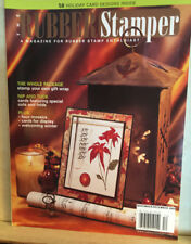 The Rubber Stamper Stamp Magazine BACK ISSUE NOV-DEC-2004-HOLIDAY PROJECTS-CARDS