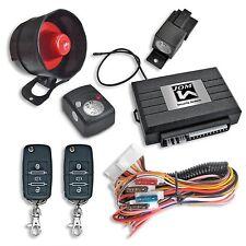 JOM 7106 Auto Alarmanlage mit Sirene und Funkfernbedienung mit Klappschlüssel