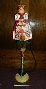 Large Skyhook pendulum swinging balance toy Queen of Hearts Alice in Wonderland