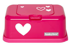 Wipes dispenser baby wipes box Funkybox Hot Pink Bambino Essentials