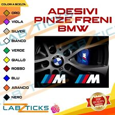 4 Adesivi pinze freni M PERFORMANCE BMW stickers TUNING serie1-2-3-4-5-6-7 POWER