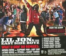 Lil' Jon & The East Side Boyz: What U Gon' Do Remixes PROMO Music CD south rap