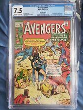 AVENGERS #83 CGC 7.5 U.K. Price 1st app Valkyrie and the Liberators Marvel Thor