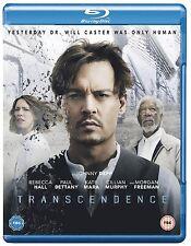 TRASCENDENCE (2014) Johnny Depp BLURAY Film in Inglese  NEW .cp