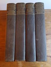 The Works of Washington Irving,The Co-op Publication Society, Vol. 3,4,5 and 8