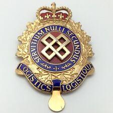 Canadian Forces Cap Badge Logistics Servitium Nulli Secundus Canada Pin G096
