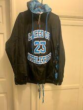 Mens LacedUp SneakGallery North Carolina Jordan 23 Unc jacket Windbreaker Xl