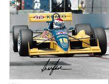 Autographed Bobby Rahal CART Indy Car Racing Indy 500 Photograph