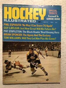 1971 Hockey Illustrated BOSTON Bruins PHIL ESPOSITO Gordie HOWE Retires FAREWELL
