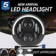 7 inch LED Headlight halo DOT for Yamaha V-Star XVS 650 950 1100 Classic Stryker