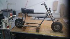 Mini-bike frame and fork kit, ( All tubing bent, you weld it)
