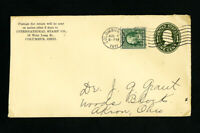 US Stamps U401 on Cover