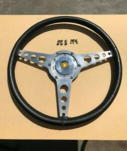 """Steering Wheel 15"""" for Jaguar E-type Series 2, Made by Astrali of England"""