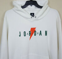 NIKE AIR JORDAN GATORADE FLEECE HOODIE SWEATSHIRT WHITE AJ1175-100 (SIZE 3XL)