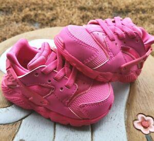 "Nike Huarache ""Laser Fuchsia"" Girls' BRAND NEW Toddler 4C"