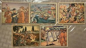 1938 Horrors of War Lot of 5 Cards Good Shape