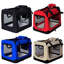Hundetransportbox Hundetasche faltbare Transportbox Kleintiertasche Autobox