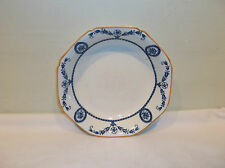 A Beautiful Wood & Sons Woodsware Broadmoor Coupe Blue and White Soup Bowl