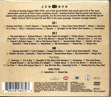 the who live at the isle of wight 2 CD & DVD set Daltrey Moon Townsend