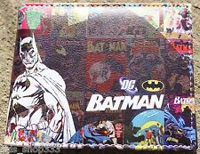 BATMAN SHADOW! bi fold wallet Dark knight DC Comics US Seller Justice league