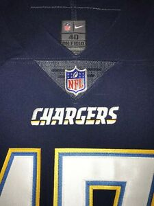 SOLD OUT Philip Rivers Chargers Vapor Untouchable Elite Authentic Game Jersey 40