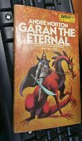 Garan the Eternal by Andre Norton Daw Books vintage science fiction