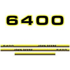 John Deere 6400 tractor decal adesivo aufkleber sticker set