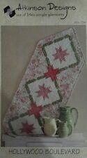 Table Runner Pattern Hollywood Boulevard Atkinson Designs-FREE US SHIPPING