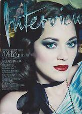 INTERVIEW FASHION Magazine March 2014, MARION COTILLARD, Spring Fashion Issue.