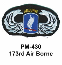 "3""  173RD AIR BORNE Embroidered Military Patch"