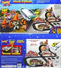 1999 TYCO Mattel 440-X2 Disney Toy Story 2 Slot Car RACE SET Sealed 1957 T-Bird!