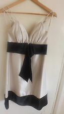 Black & Gold evening / wedding / formal / cocktail dress by milanzi size s