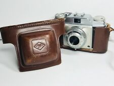 Agfa Apotar Prontor - S Film Camera Silette 1: 3.5/45 45mm Lens Leather Case
