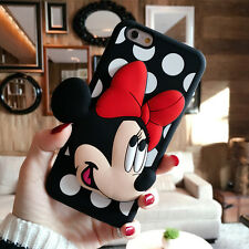 Cute Minnie Mickey Mouse Shockproof case cover Pouch for Apple iPhone 6 6S Plus