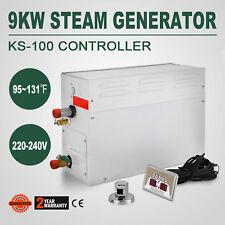HOT! 9KW Steam Generator Shower Sauna Bath Home Spa with ST-135M controller