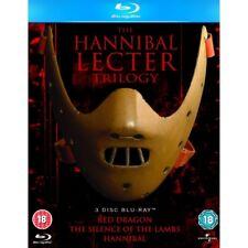 Hannibal Lecter Trilogy 5050582807271 Blu Ray Region B P H