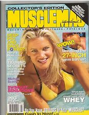 MUSCLEMAG bodybuilding muscle SWIMSUIT magazine/Vicky Pratt/Dave Draper5-99 #203