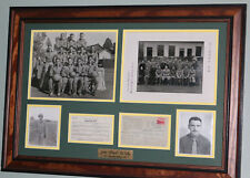 John Blood McNally WWII Photographs&Handwritten Ephemera Green Bay Packers JSA