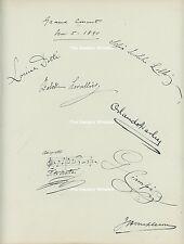 Colonel Mapleson; Scalchi; Ciampi, Mattei, Dotti. Composer, opera, pianist