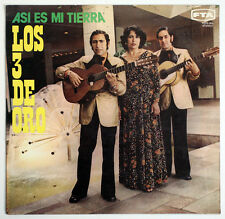 LOS TRES DE ORO SIGNED Asi es mi tierra valses peruanos peru FTA FLPS-305 LP