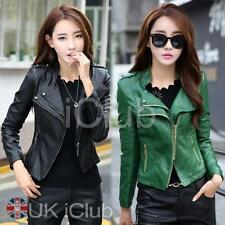 Leather Bomber Unbranded Coats & Jackets for Women