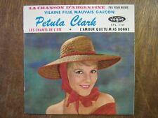 PETULA CLARK EP FRANCE VILAINE FILLE GAINSBOURG